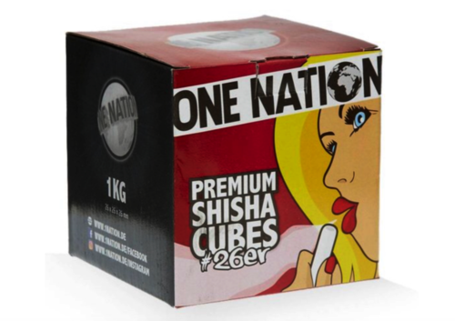 ONE NATION Premiumkohle 1Kg